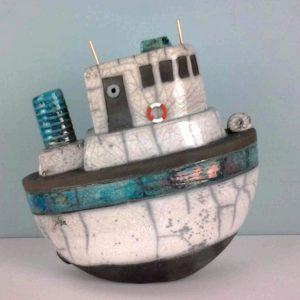 Pièces 3D - sur la vague de l'océan